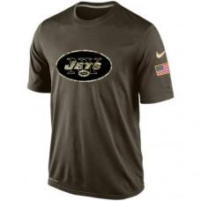 2016 Mens New York Jets Salute To Service Nike Dri-FIT T-Shirt