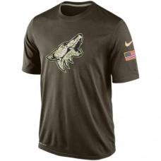 2016 Mens Phoenix Coyotes Salute To Service Nike Dri-FIT T-Shirt