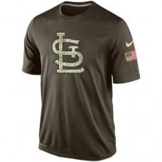 2016 Mens St.Louis Cardinals Salute To Service Nike Dri-FIT T-Shirt