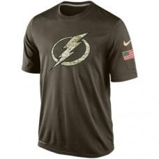 2016 Mens Tampa Bay Lightning Salute To Service Nike Dri-FIT T-Shirt