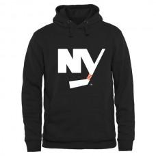 2016 NHL New York Islanders Rinkside Logo Pullover Hoodie - Black
