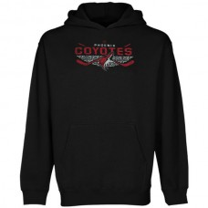 2016 NHL Old Time Hockey Phoenix Coyotes Osaka Pullover Hoodie - Black