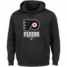 2016 NHL Philadelphia Flyers Majestic Big Tall Critical Victory Pullover Hoodie - Black