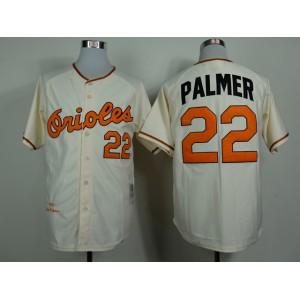 MLB Baltimore Orioles 22 Palmer Gream 1970 Jerseys