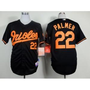 MLB Baltimore Orioles 22 Jim Palmer Black Throwback Jerseys