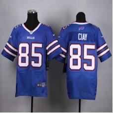 Buffalo Bills 85 Ciay Blue Men Nike Elite Jerseys
